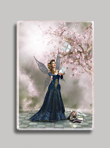 Cherry Tree Fairy Refrigerator Magnet