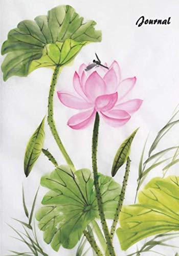 (Journal: Premium Lined Journal 7 x 10 (Lotus))
