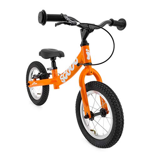 Scoot 12' Balance Bike in Gloss Tangerine Orange