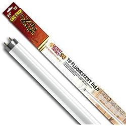 Zilla 11943 24-Inch Desert 50 UVB T8 Fluorescent Bulb, 17-Watt