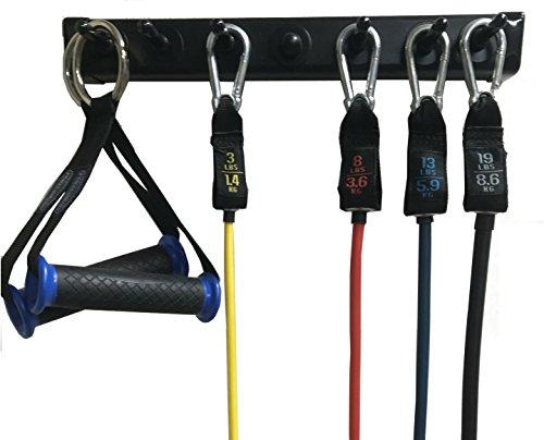 Anazao Fitness Gear New 14 Storage Rack For Resistance