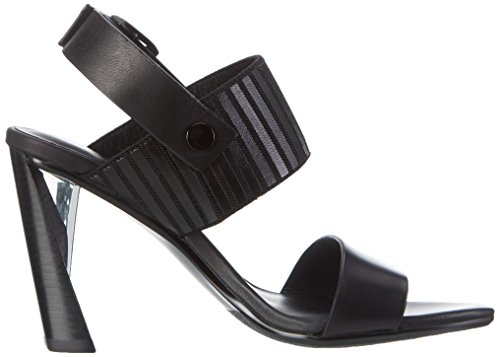 Hi Nude Black Toe Women's Zink Sandals Slingback United Open tFdTqxn
