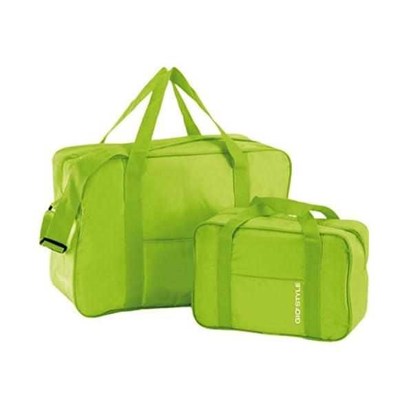 kit spiaggia ombrellone ponza + picchetto + set 2 borse termiche giostyle Fiesta 6/25 5 spesavip
