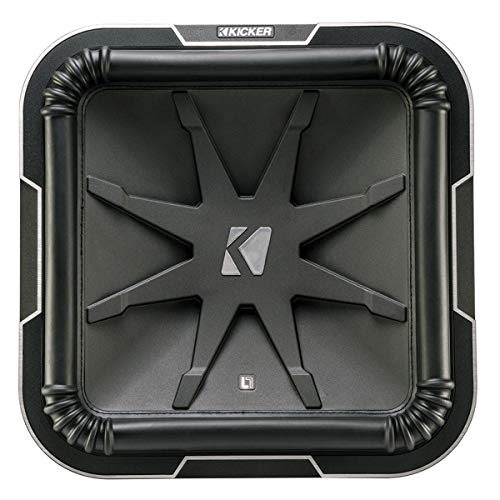 Kicker L715 Q-Class 15-Inch (38cm) Square Subwoofer, Dual Voice Coil 2-Ohm ()