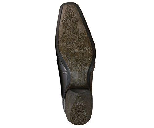 Amali Lisse Moc Toe Slip Sur La Chaussure De Robe Classique, Mocassin Confortable, Style 8001 Gris