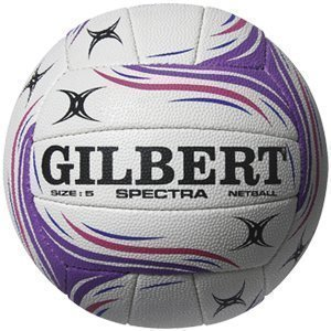 Gilbert Official Spectres Netball Rubber Surface Duragrip Match & Entraînement Balles