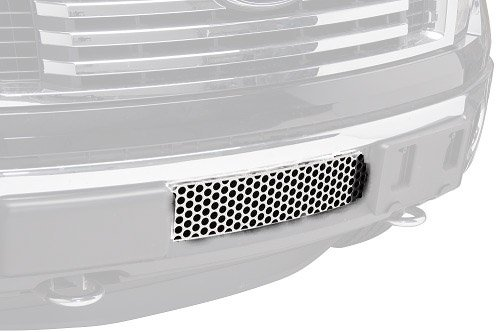 Putco 84182 Ecoboost Punch Design Bumper Grille Insert for Ford F150 -