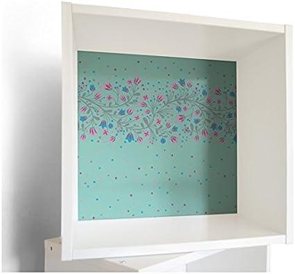 banjadolino – pared armario IKEA förhöja en color blanco con muebles adhesivo Niños Diseño Diseño cascabeles Ranke: Amazon.es: Hogar