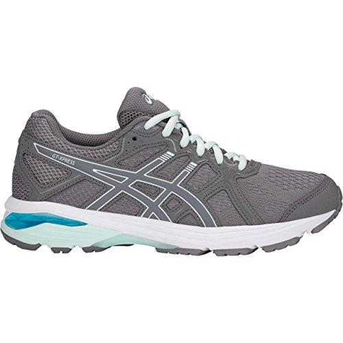 Asics 1012A185 Womens Gt Xpress  D  Running Shoe  Carbon Soothin Sea   9 D Us