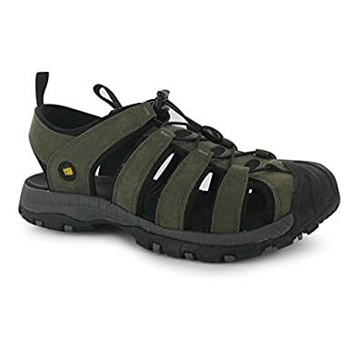 053dd27ab7b1 Karrimor Mens Ithaca Leather Outdoor Sandals Lightweight Summer Walking  Shoes Brown UK 11 (45)  Amazon.co.uk  Shoes   Bags