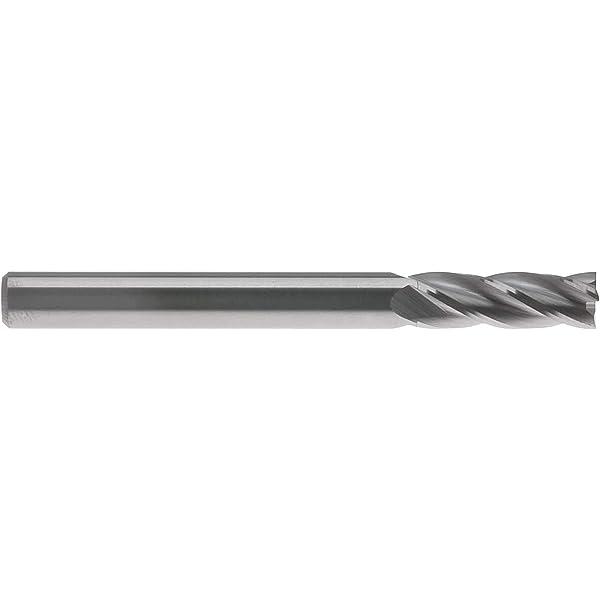 Carbide End Mill Cut L 7//8 In Dia 3//8 In