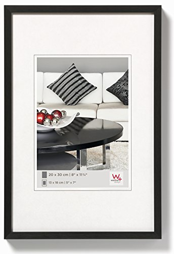 walther design Photo Frame, Black, 60 x 80 cm