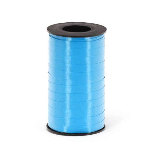 Berwick 3/8-Inch Wide by 250 Yard Spool Super Curl Crimped Splendorette Curling Ribbon, Caribbean Blue (Ribbon Curls)