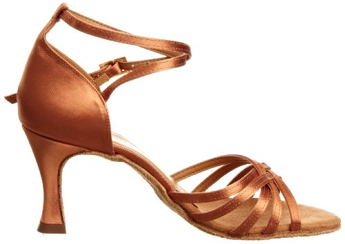 Zapato mujer Tan Tanya para Satinado baile internacional de Irqwzr