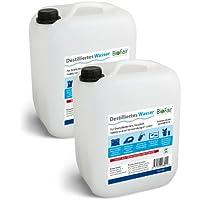 Paquete ahorro: Agua Destilada BioFair® - 2 Bidón