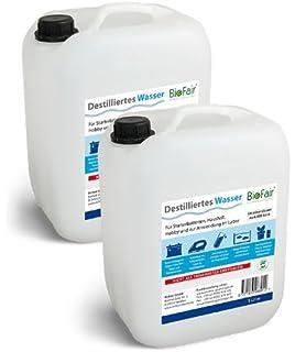 Paquete ahorro: Agua Destilada BioFair® - 2 Bidón à 5 litros - Envío libre