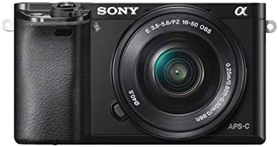 Sony ILCE6000L/B 24.3MP SLR Camera with 3.0-Inch LCD and 16-50mm Power Zoom Lens (Black)