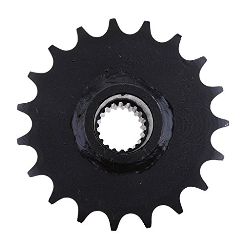 Baoblaze Black 19 Teeth 428 Drive Chain Sprockets Gy6 150cc Quad Dirt Bikes ATV Buggy