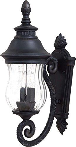 Minka Lavery Outdoor Wall Light 8900-94 Newport Cast Aluminum Exterior Wall Lantern, 80 Watts, -