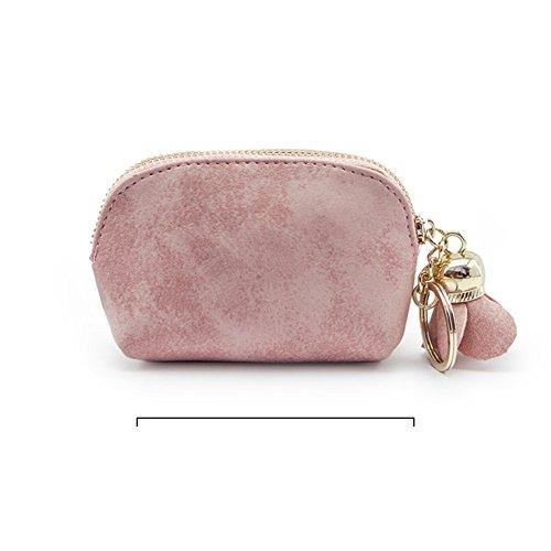 C Moneda Bolso de mano clave rosado portable monedero Bolsa de TTfw8rq