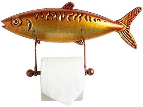 GONDD トイレットペーパーホルダーマグロクリエイティブバスルームロールホルダー壁ペーパータオルラック、ゴールド、サイズ:40 x 20 x 9 cm
