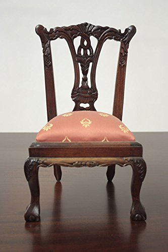 (Miniature Chippendale Side Chair with Ball and Claw feet - 1/3)