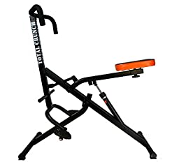 Total Crunch Six Pack Ab Slim Body Core Horse Riding Machine with 12 Hydraulic Resistance Levels