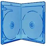 10x discos de doble (2) Blu-ray 11mm cajas de almacenaje con logo diseño de dragón Trading Branded