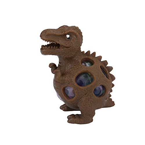 KKYT Stress Reliever Toys, Squishies Squeeze Squishy Fun Stress Relief Toys Creative Squeezable Squeeze Dinosaur Ball Stress Reliever Toy Friends Toys for Boys Girls Adults Anxiety Reducer (A)