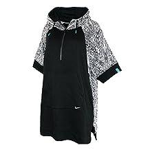 NIKE N7 PONCHO WOMEN'S Athletic 1/4 zip Hoodie Loose Fit Jacket