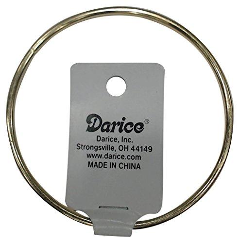 Darice 3mm Gold Metal Ring, ()