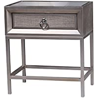Statements by J Cassidy Nightstand, Metallic Gray