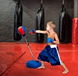 Tech Tools Punching Bag Reflex Boxing Bag with
