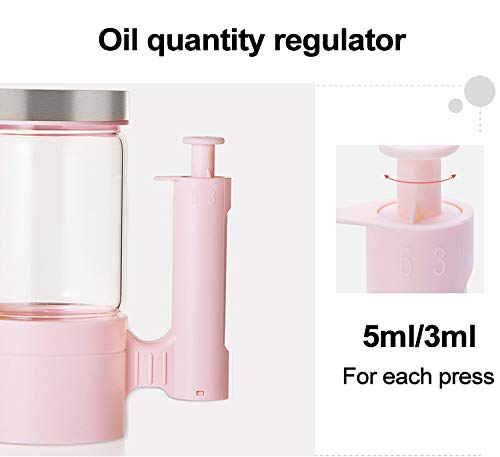 Botella de aceite para cocinar para la hipertensión Seguridad cuantitativa inteligente: Amazon.es: Hogar