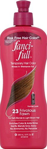 Fanci-Full Temporary Hair Color - 23 Frivolous Fawn: 9 OZ by Fanci-Full