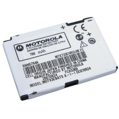 Motorola Cell Phone Battery for The Motorola Razr V3 V-3, V3a OEM (Motorola Phone Battery Flip)