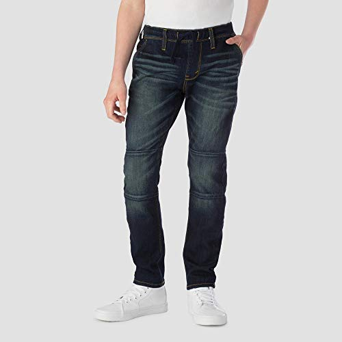 Denizen from Levi's Boys' Athleisure Taper Pants Dark Blue 6