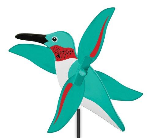 (WindNSun WhirlyGig Outdoor Animated Decor, Humming Bird)