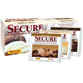 Secure Soy Complete Meal Replacement - Variety Packets