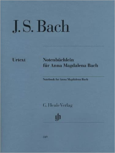 Notebook for Anna Magdalena Bach - piano - (HN 349): Amazon
