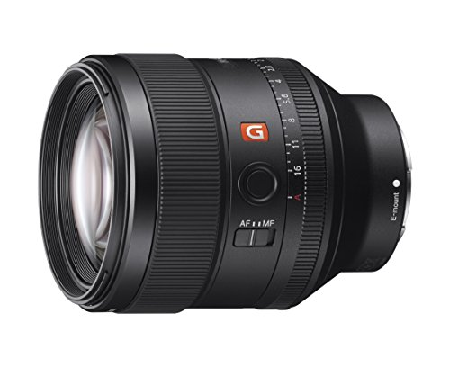 Sony - 85 mm - f/1.4 - Fixed Focal Length Lens for Sony E -