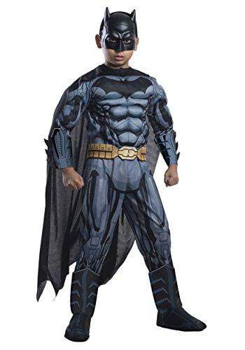Rubie's Costume DC Superheroes Batman Child Deluxe Costume, (Super Costumes Ideas)