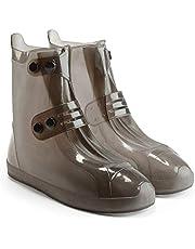 Lixada Überschuh Wasserdichte Schuhe Abdeckung - Rutschfester Regenstiefel - Outdoor Shoes Cover - Mehrweg Regenüberschuhe für Wandern und Fahrradfahren Unisex