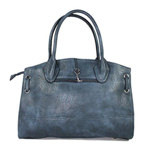 Große Handtasche Henkeltasche 9125