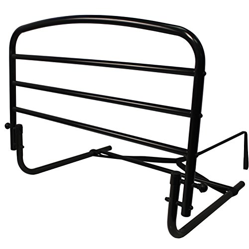 "Stander 30"" Home Safety Adult Bed Rail - Fall Prevention + Pivots Down Out of the Way + Includes Safety Strap + Lifetime Guarantee"