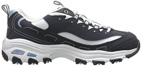 bkhp Fan Biggest Skechers D'lites Noir Basses Femme Baskets aR88v6