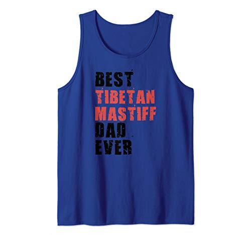 Best Tibetan Mastiff Dad Ever ADC077b Tank Top
