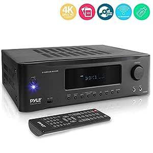Pyle PT694BT - Amplificador estéreo Bluetooth de alta fidelidad de ...