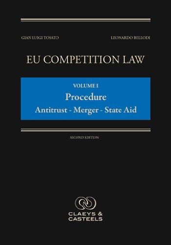 1: EU Competition Law Volume I, Procedure: Antitrust - Mergers - State Aid: (Second - Anti Luigi