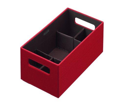 Rubbermaid File Tote (Rubbermaid Bento Storage Box with Flex Dividers, Medium, Paprika)